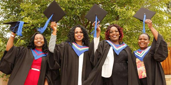 students-graduating
